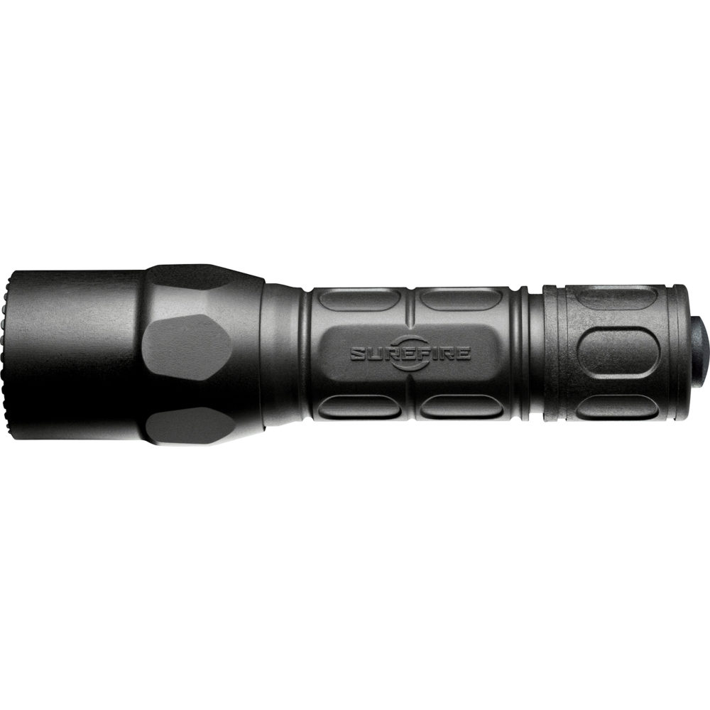 G2XLE-BK Tactical LED Flashlight with multiple lighting output settings