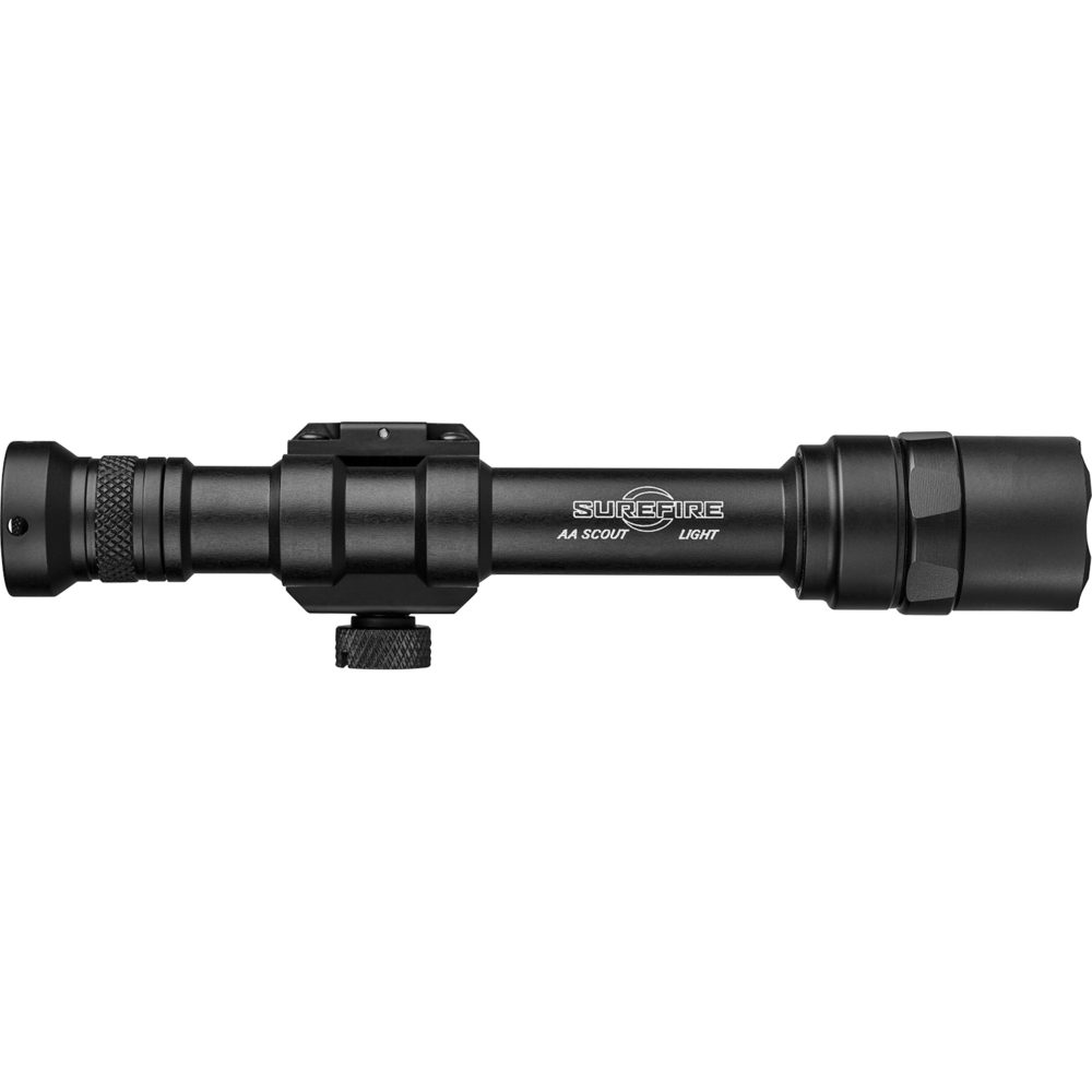 M600AA Scout Light Remote Switch LED Weapon Light provides 300 lumens in a black anodized aluminum frame