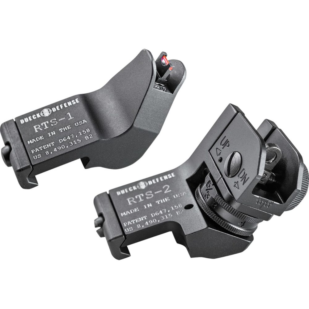 DD-RTS-FO Rapid Transition Sights are designed for competition and for battle