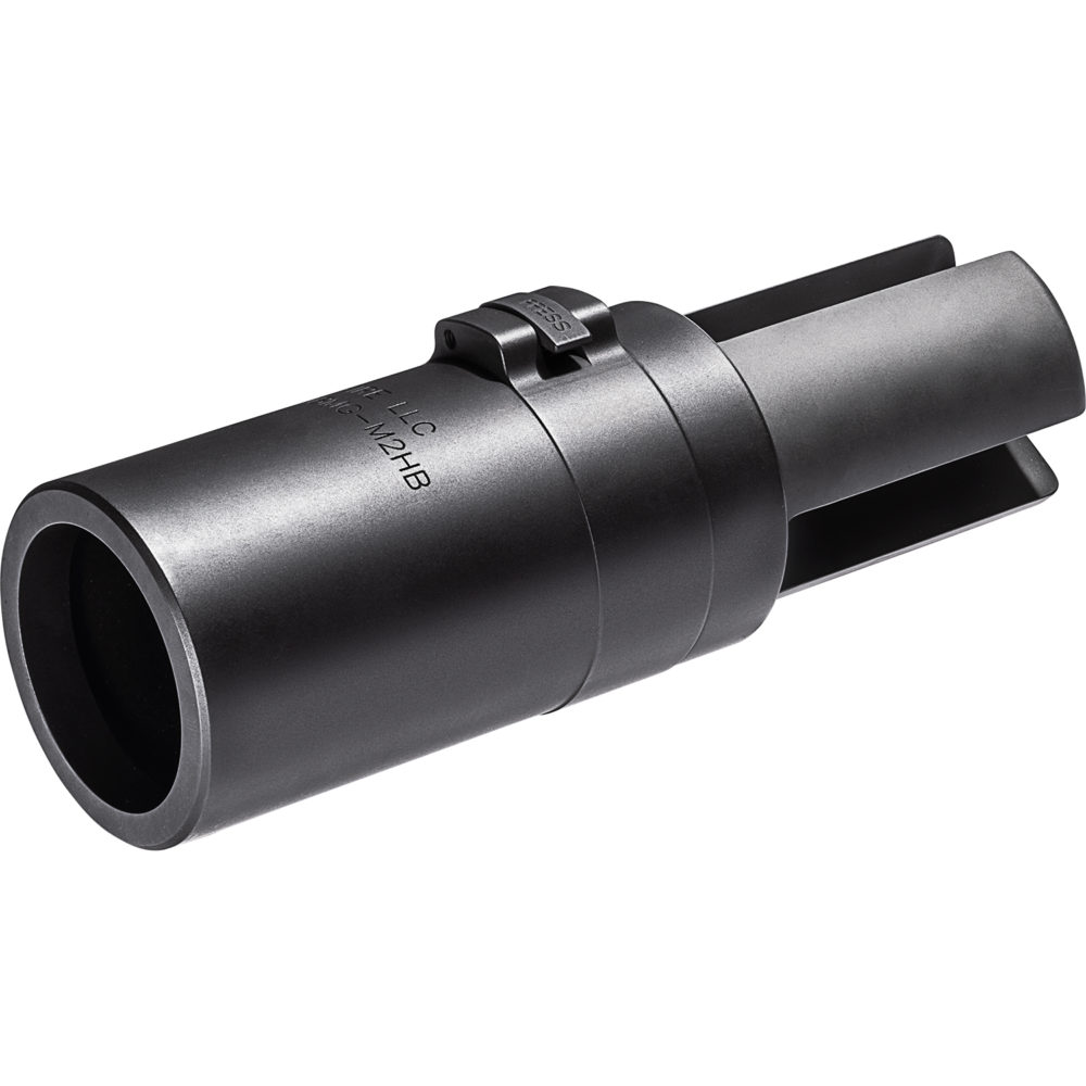 SureFire SF3P 50BMG Muzzle Flash Hider in Black with 3 Prong Design
