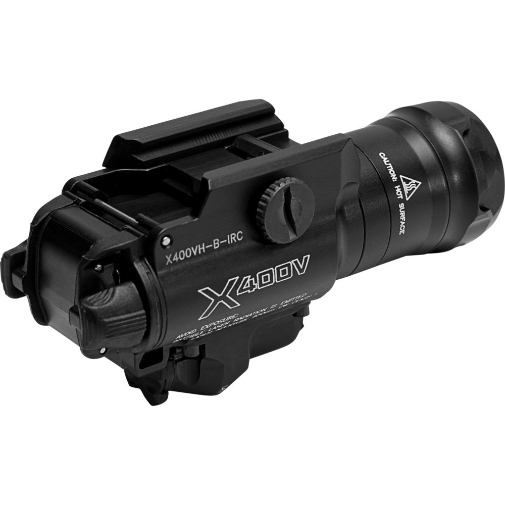 X400VH-B-IRC Infrared LED Weapon Light with laser capabilities