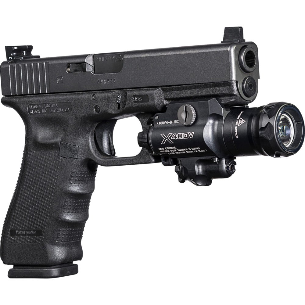 X400VH-B-IRC Pistol Laser and Light is virtually indestructible
