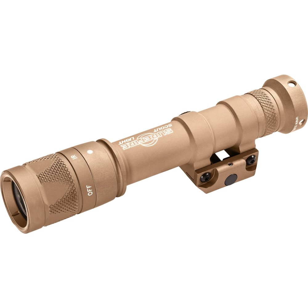 M600V Scout Light Infrared LED Tactical Weapon Light with 350 Lumens Output in Tan Hard Anodized Aluminum Body