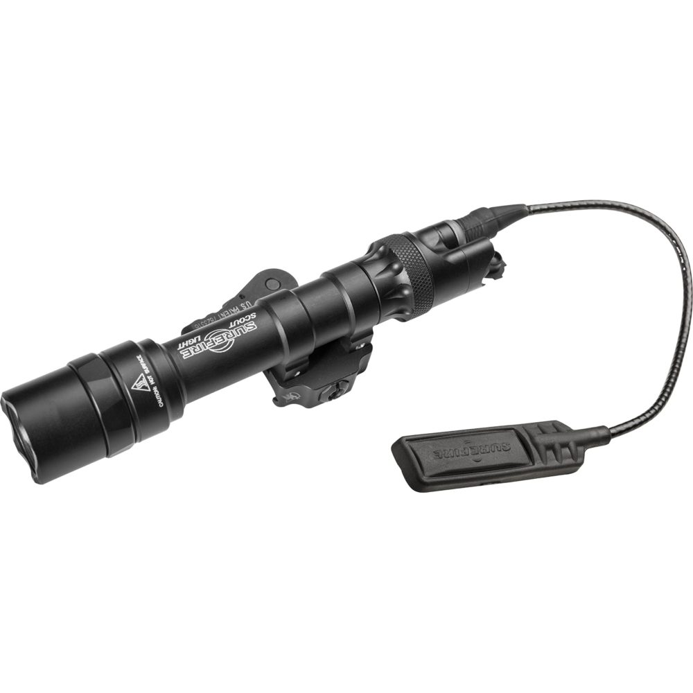 M622U Scout Light Tactical LED Weapon Light with 1,000 Lumen Output in Black Color