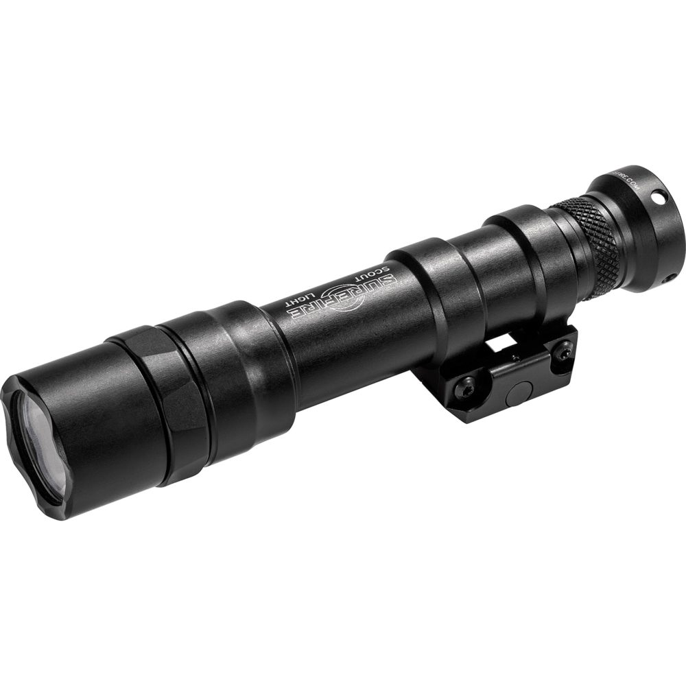 M600DF Scout Light Dual Fuel Rechargeable LED Weapon Light with 1,500 Lumens Output in a Black Anodized Aluminum Frame