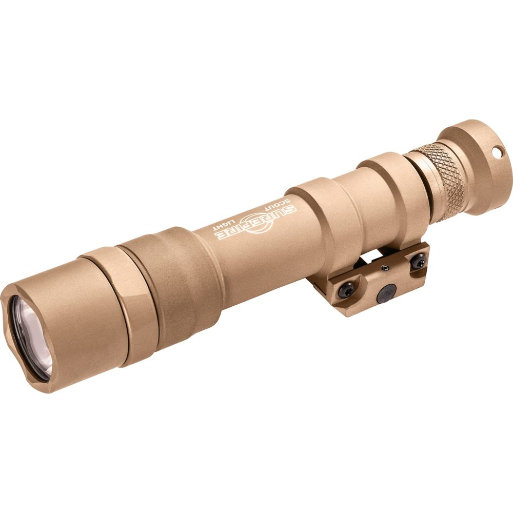 M600DF Scout Light Dual Fuel Rechargeable LED Weapon Light with a 1,500 Lumens Output in a Tan Anodized Aluminum Frame