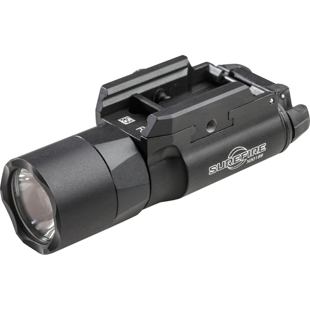 X300U-B LED Handgun Light is waterproof for 30 minutes in 1 meter of water