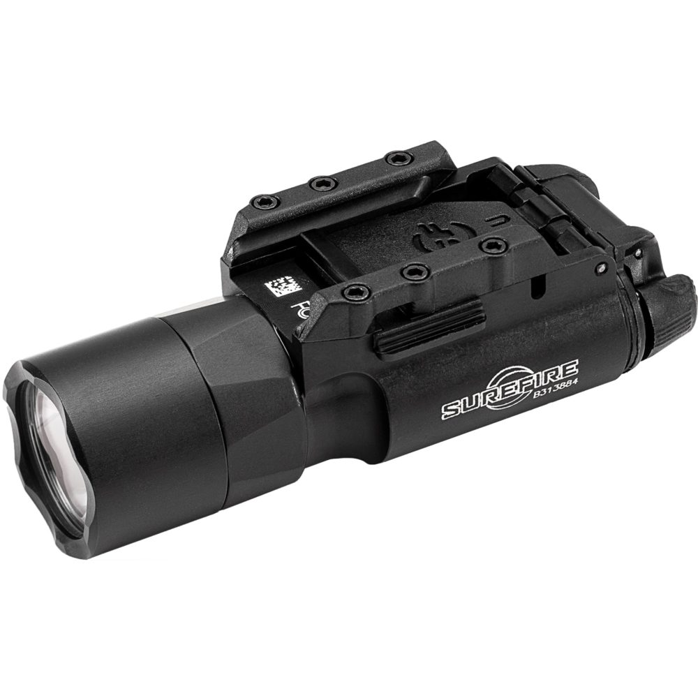 X300U-A Pistol Light is constructed of high strength aluminum and produces 1,000 lumens