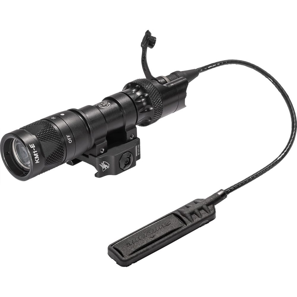 M322V LED Weapon Light with waterproof switch assembly and recoil-proof tactical 250 lumens maximum output