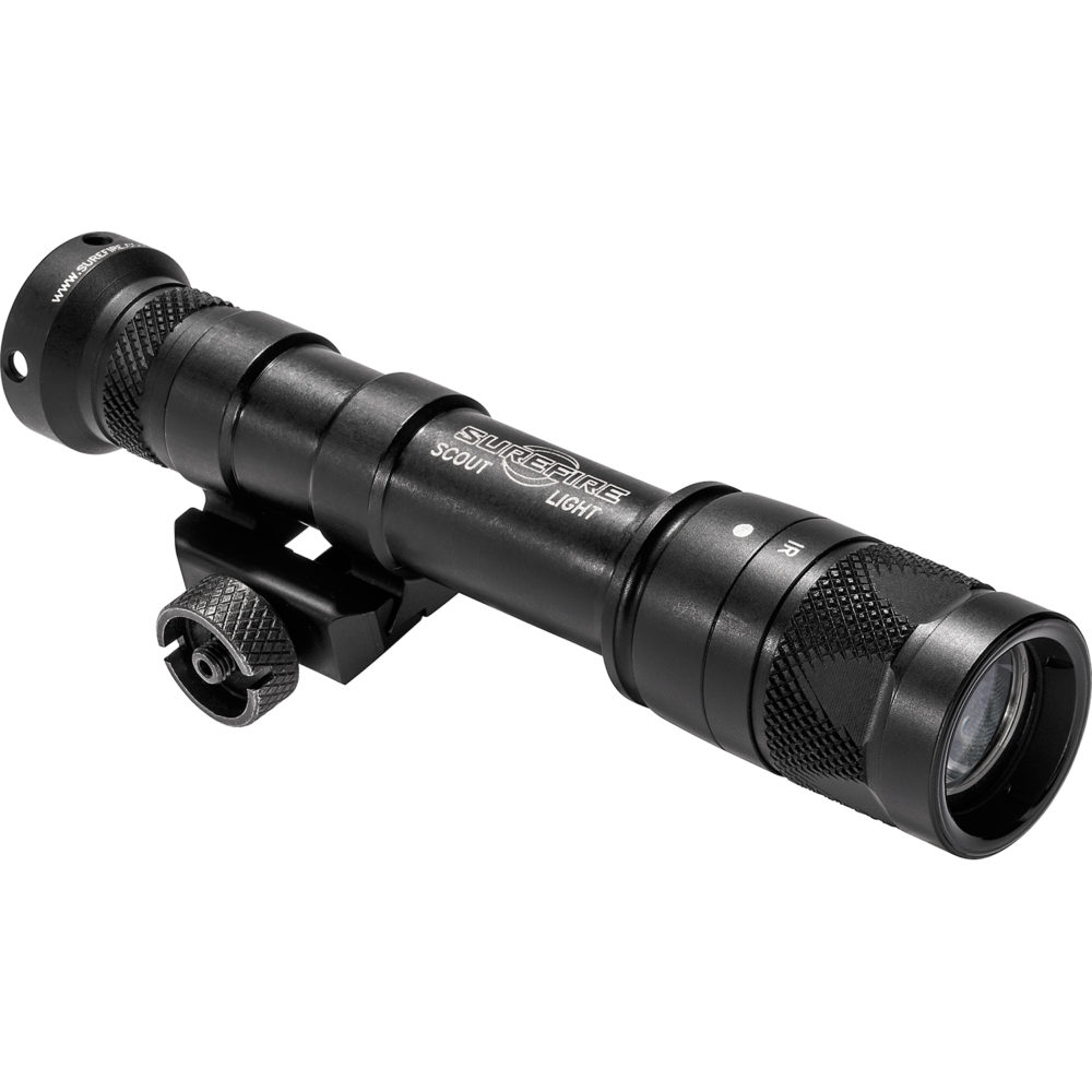 M600V Scout Light Infrared LED Tactical Weapon Light with 350 Lumen Output in a Black Anodized Frame