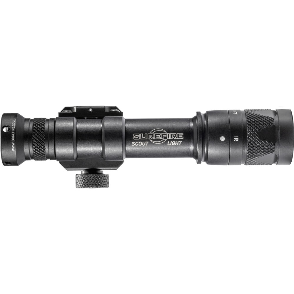 M600V-BK Scout Light Infrared LED Tactical Weapon Light with a 350 Lumens Output in a Black Anodized Aluminum Frame