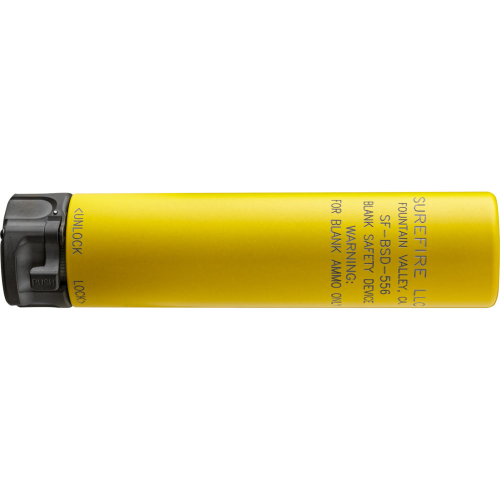 Blank Safety Device Fast-Attach Suppressor training tool