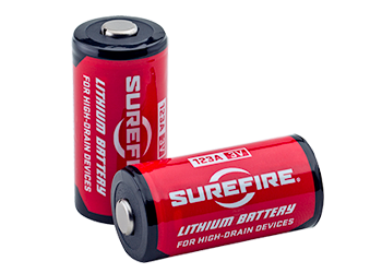 SF123A SureFire Lithium Batteries with 10 year shelf life