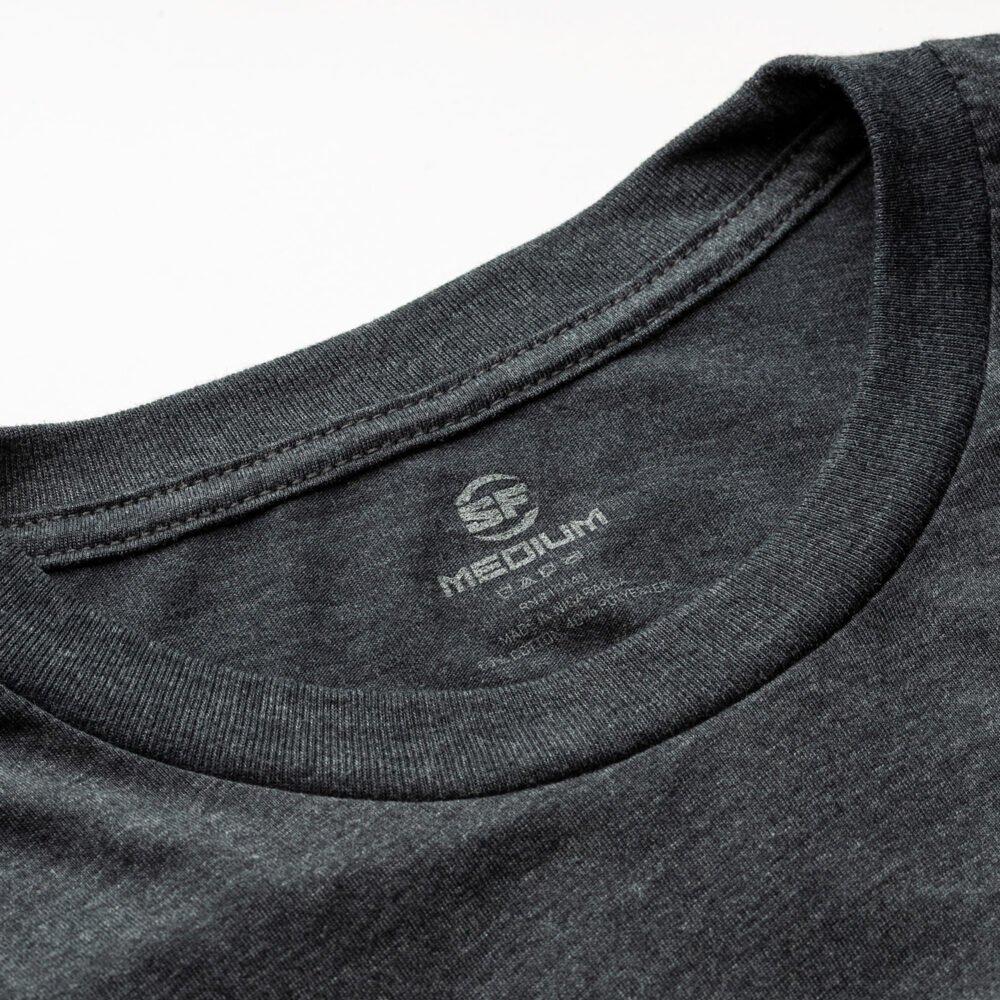 SureFire Button Logo Dark Gray Shirt