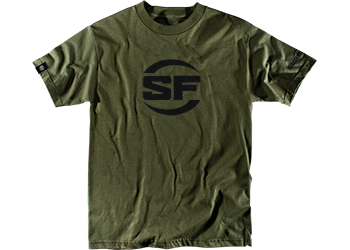 SureFire Logo Brown Company Shirt