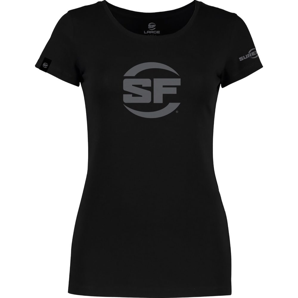 SureFire Button Logo Black for Women