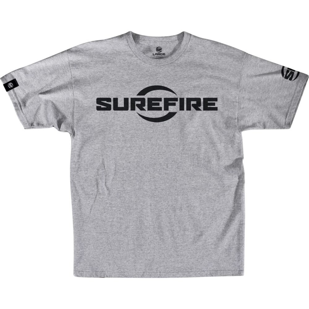 SureFire Logo Athletic Gray