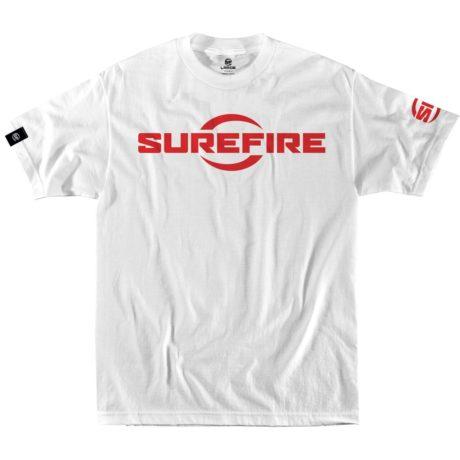 SureFire Logo White