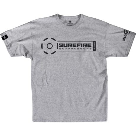 SureFire Suppressor Stamp Athletic Gray