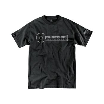 SureFire Suppressor Stamp in Black