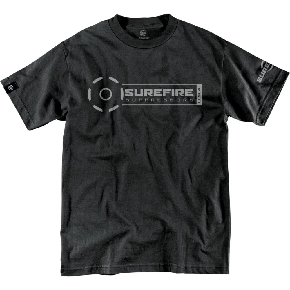 SureFire Suppressor Stamp Black