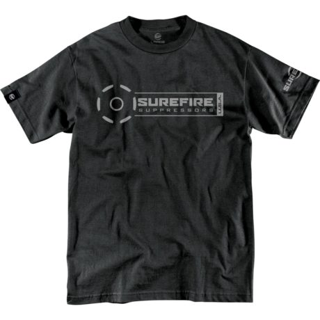 SureFire Suppressor Stamp Black