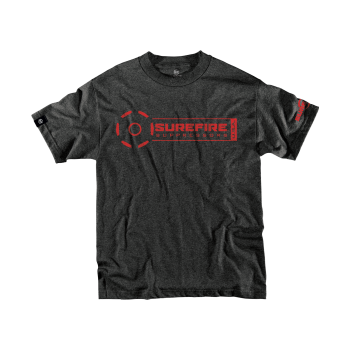 SureFire Suppressor Stamp T-Shirt in Black
