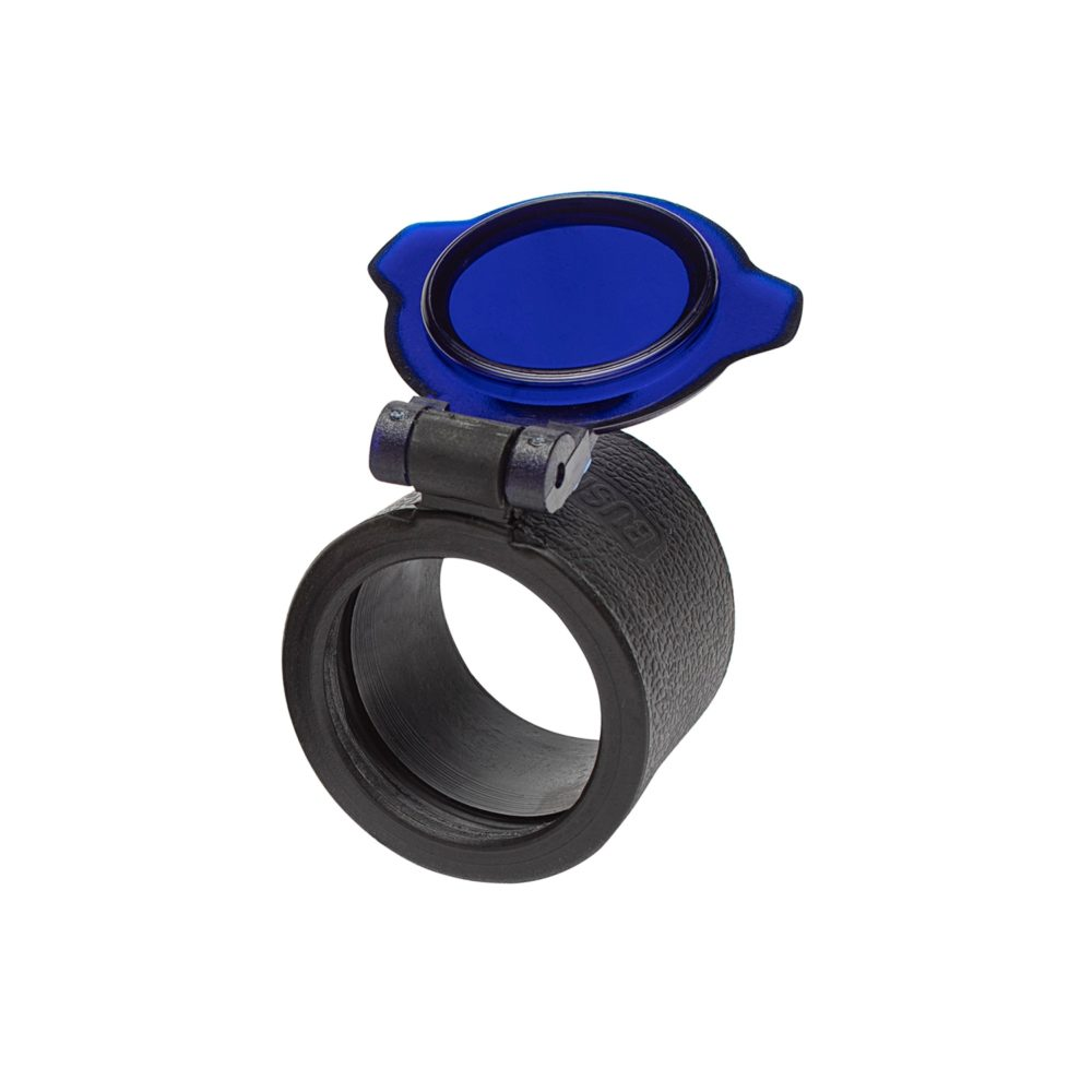 Slip-On Flashlight Bezel Filters F27 Blue Filter assists with identifying fluid on dry surfaces to track blood or find the leaking source