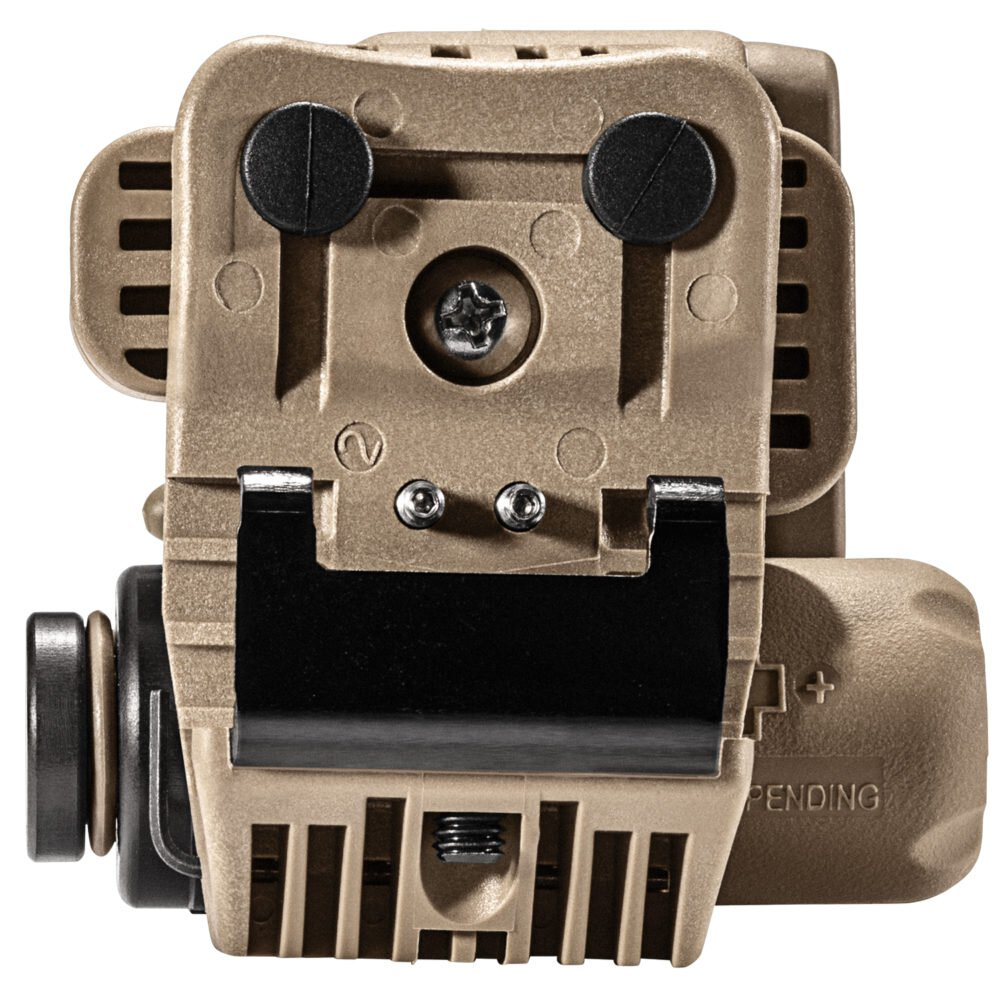 HL1-A Back View of Helmet Light in Tan