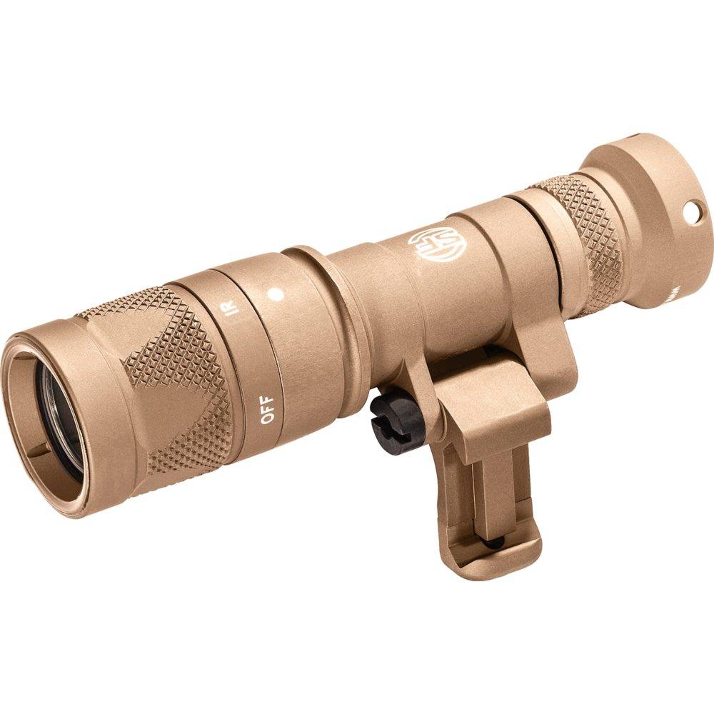 Mini Scout Light Pro Infrared LED Tactical Weapon Light with 250 Lumens Output in Tan Color