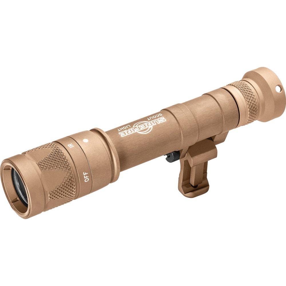 Scout Light Pro Infrared LED Weapon Light with 350 Lumen Capability in Tan Color