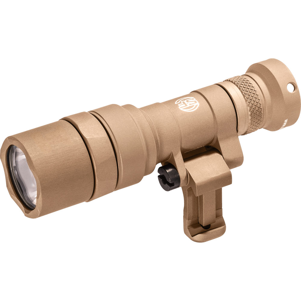 Mini Scout Light Pro Tactical LED Weapon Light with 500 lumens maximum output with black anodized aluminum construction