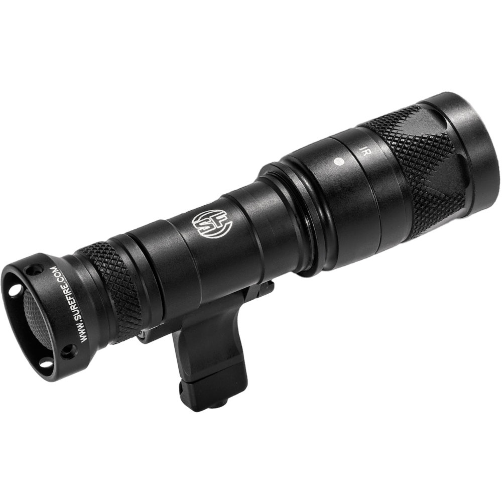 M340V-BK Mini Scout Light Infrared LED Tactical Weapon Light with 250 Lumens Output in Black