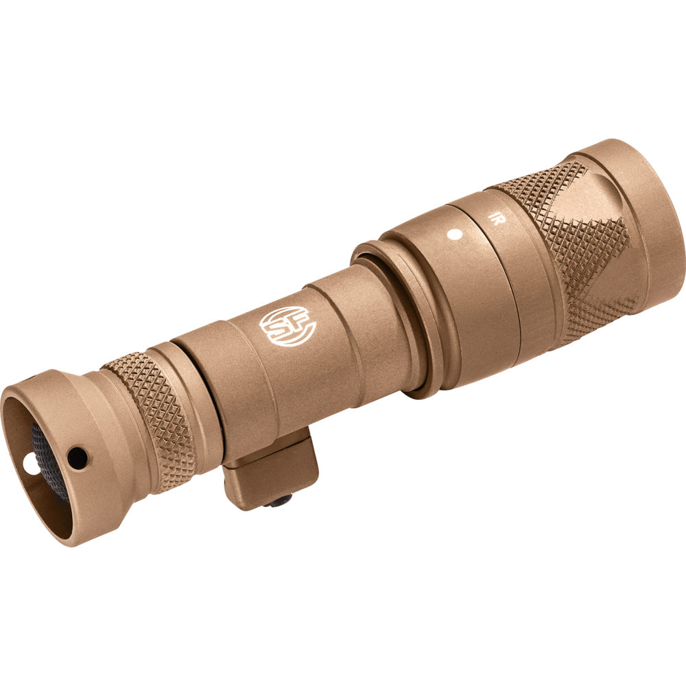 Mini Scout Light Pro Infrared LED Weapon Light with 250 Lumens Output in Tan