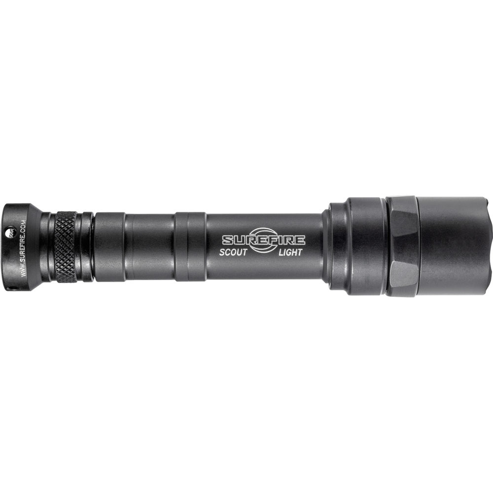 M640U-BK Scout Light Pro LED Tactical Weapon Light with 1,000 Lumen Capability in Black Color
