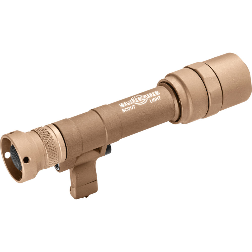Scout Light Pro LED Tactical Weapon Light with 1,000 Lumen Output in Tan Color
