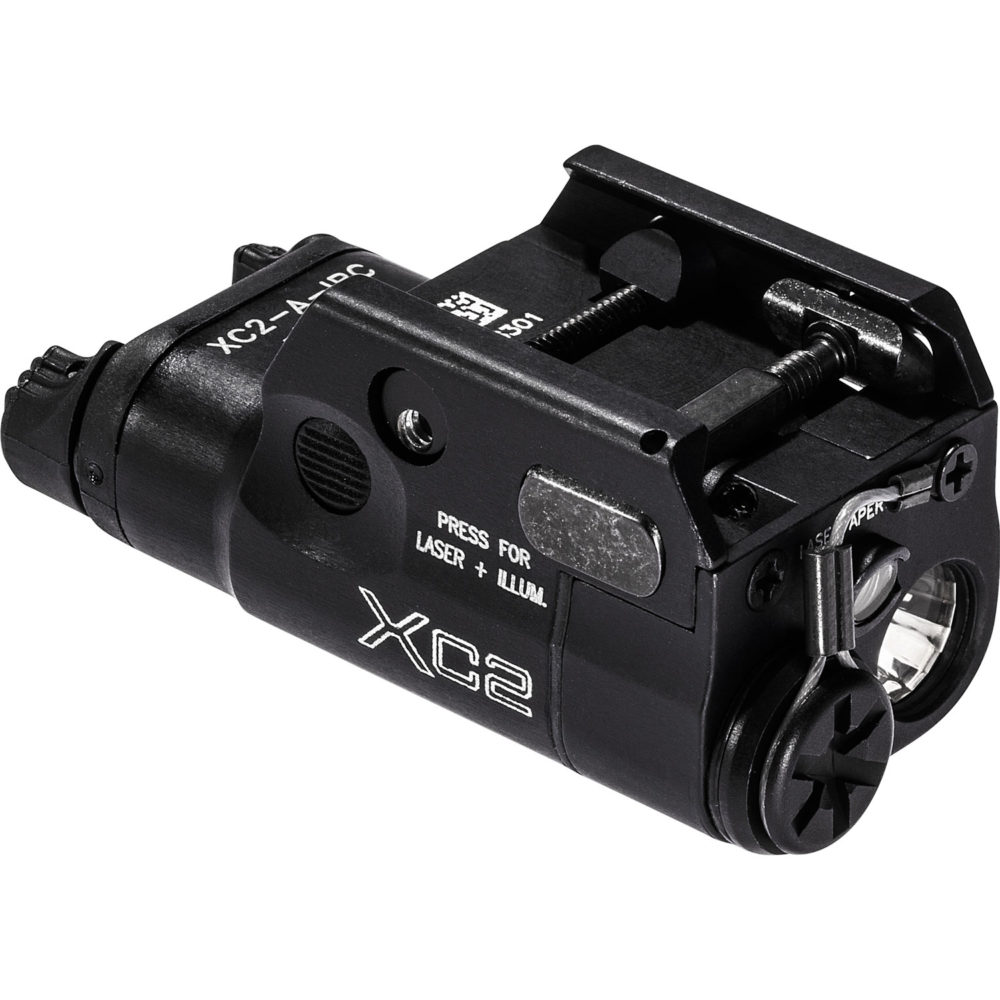 XC2-A-IRC Infrared LED Pistol Weapon Light for everyday carry in lightweight aerospace aluminum construction