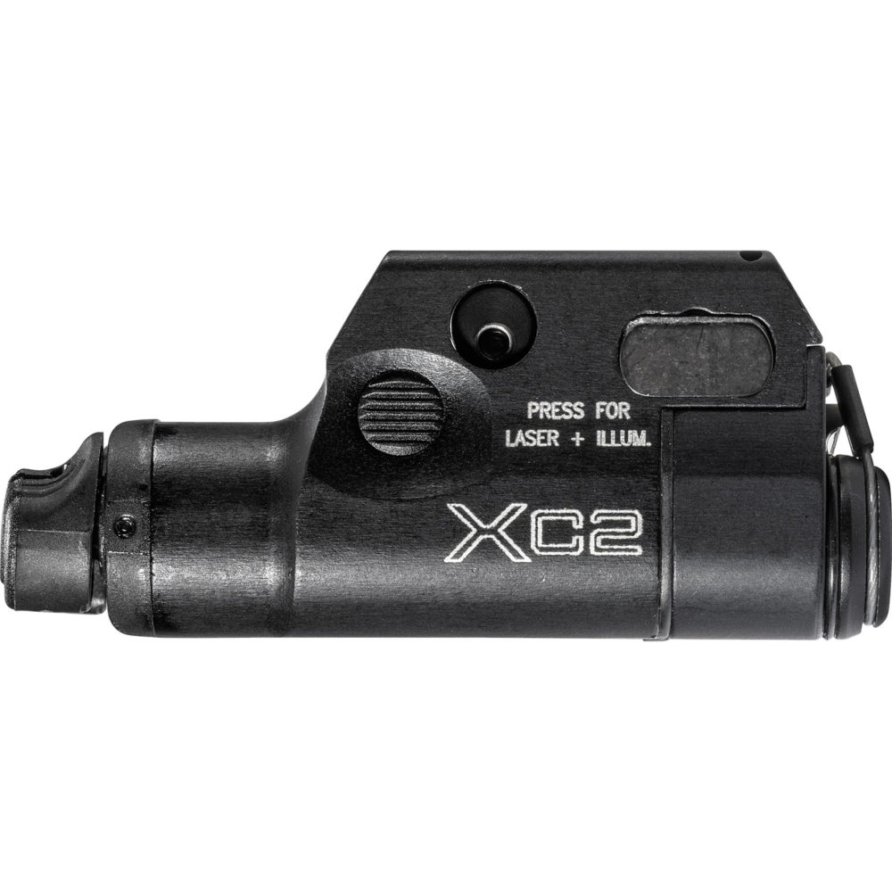 XC2-A-IRC Infrared LED Pistol Weapon Light with a weatherproof aerospace aluminum body