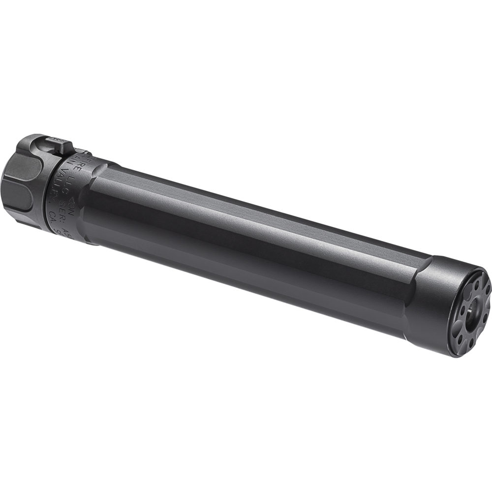 SF Ryder 9-MP5 Gun Suppressor 9mm Silencer Designed and Manufactured in the USA with Black Color