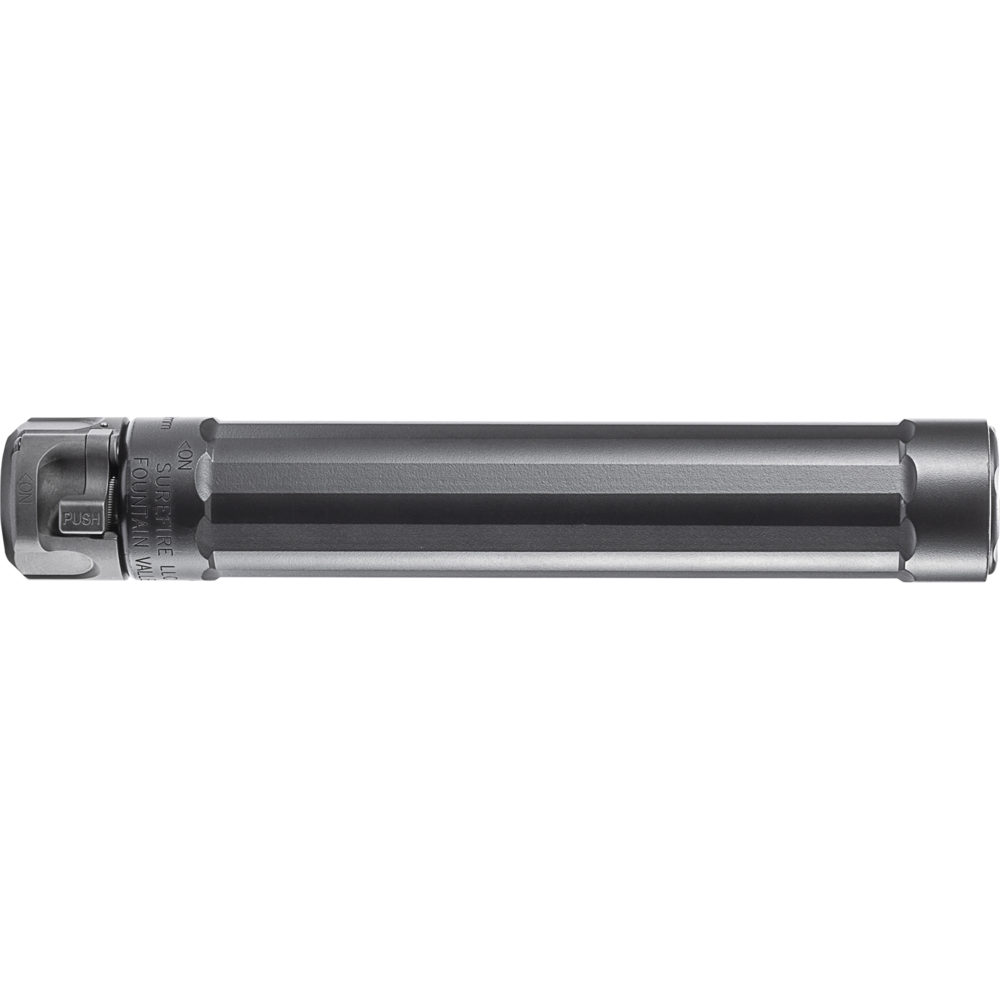 SF Ryder 9-MP5 Gun Suppressor 9mm Silencer with Heat-Treated Stainless Steel in Black Color