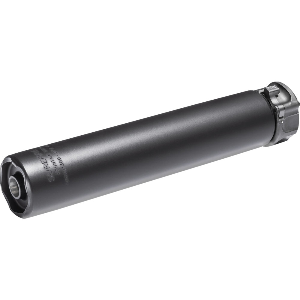 SOCOM300-SPS Suppressor Gun Silencer Designed and Manufactured in the USA in Black Color
