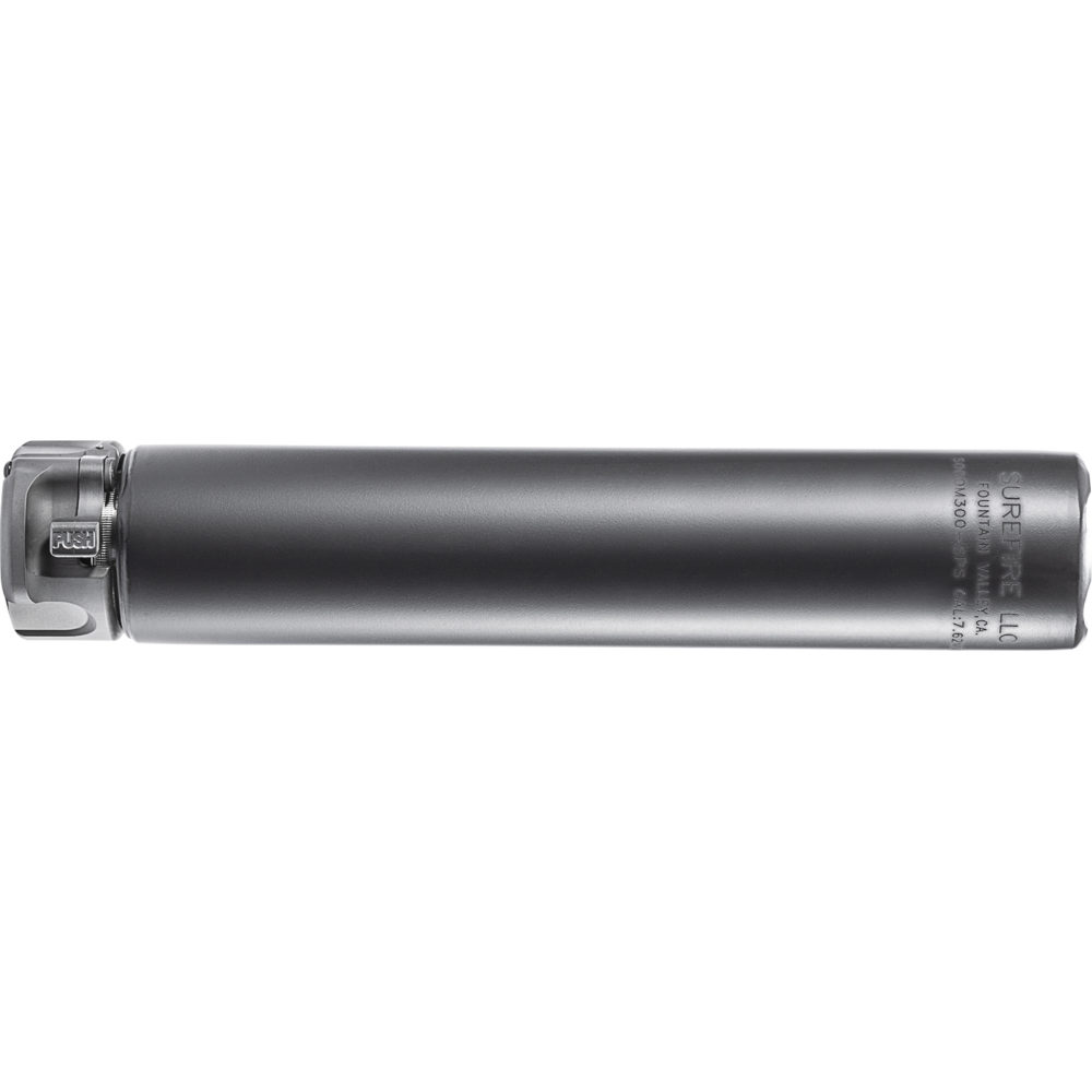 SOCOM300-SPS Suppressor Gun Silencer with Alloy and Stainless Steel Construction in Black Color