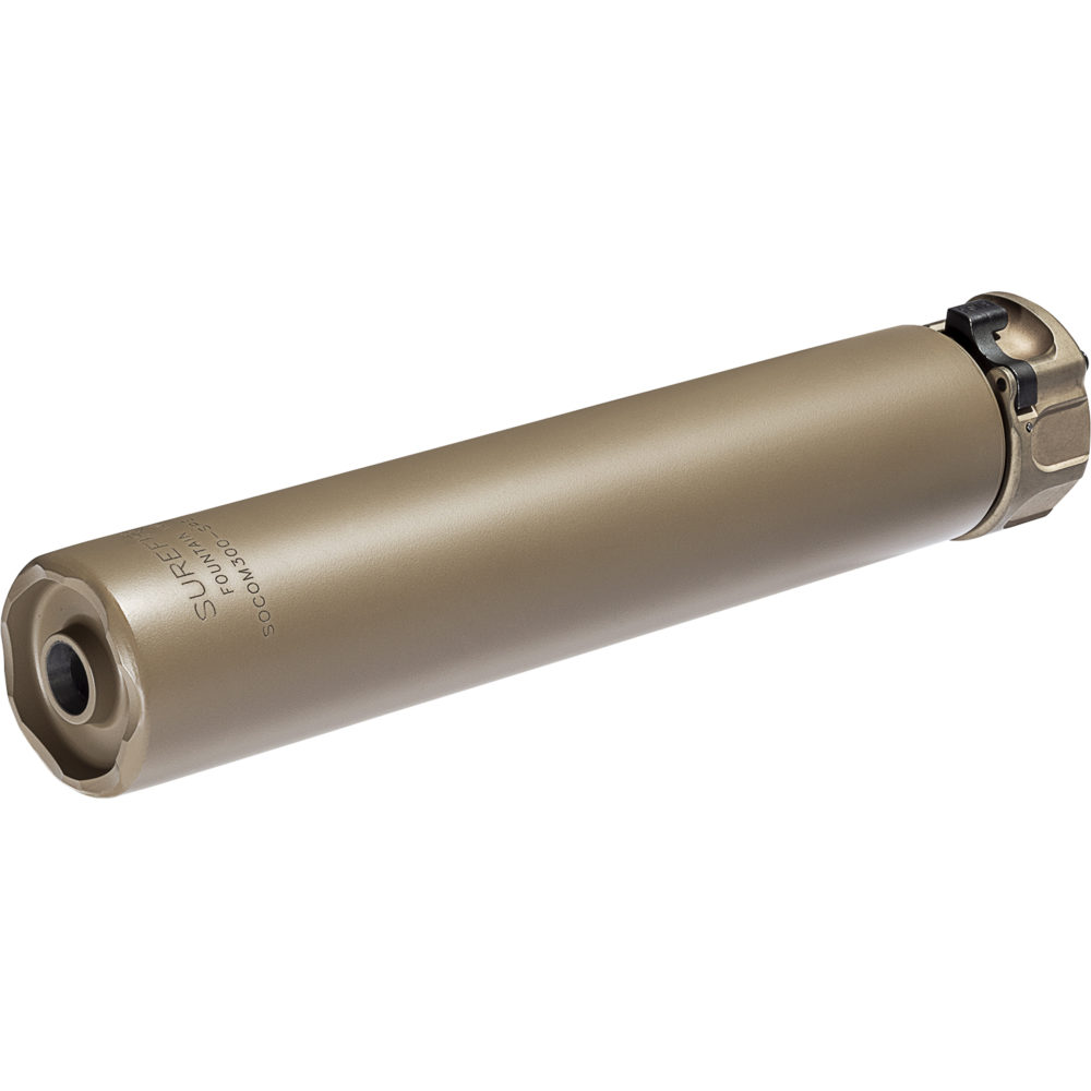SOCOM300-SPS Suppressor Gun Silencer Designed and Manufactured in the USA in Dark Earth Color
