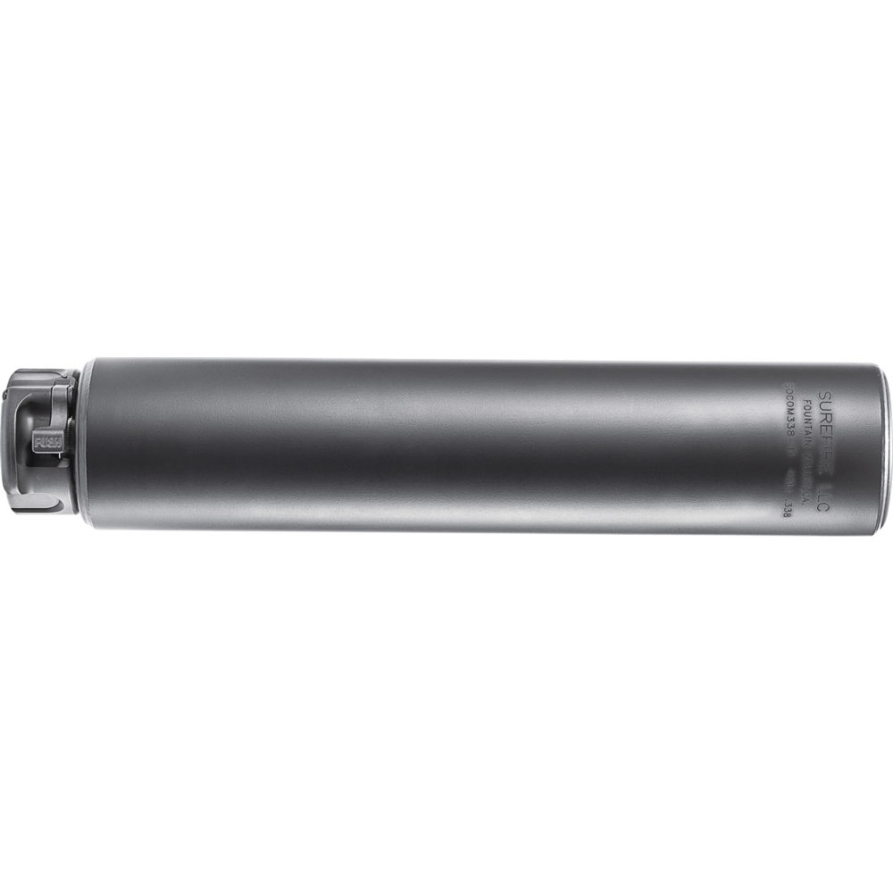SOCOM338-Ti Suppressor Gun Silencer with Titanium Construction in Black Color