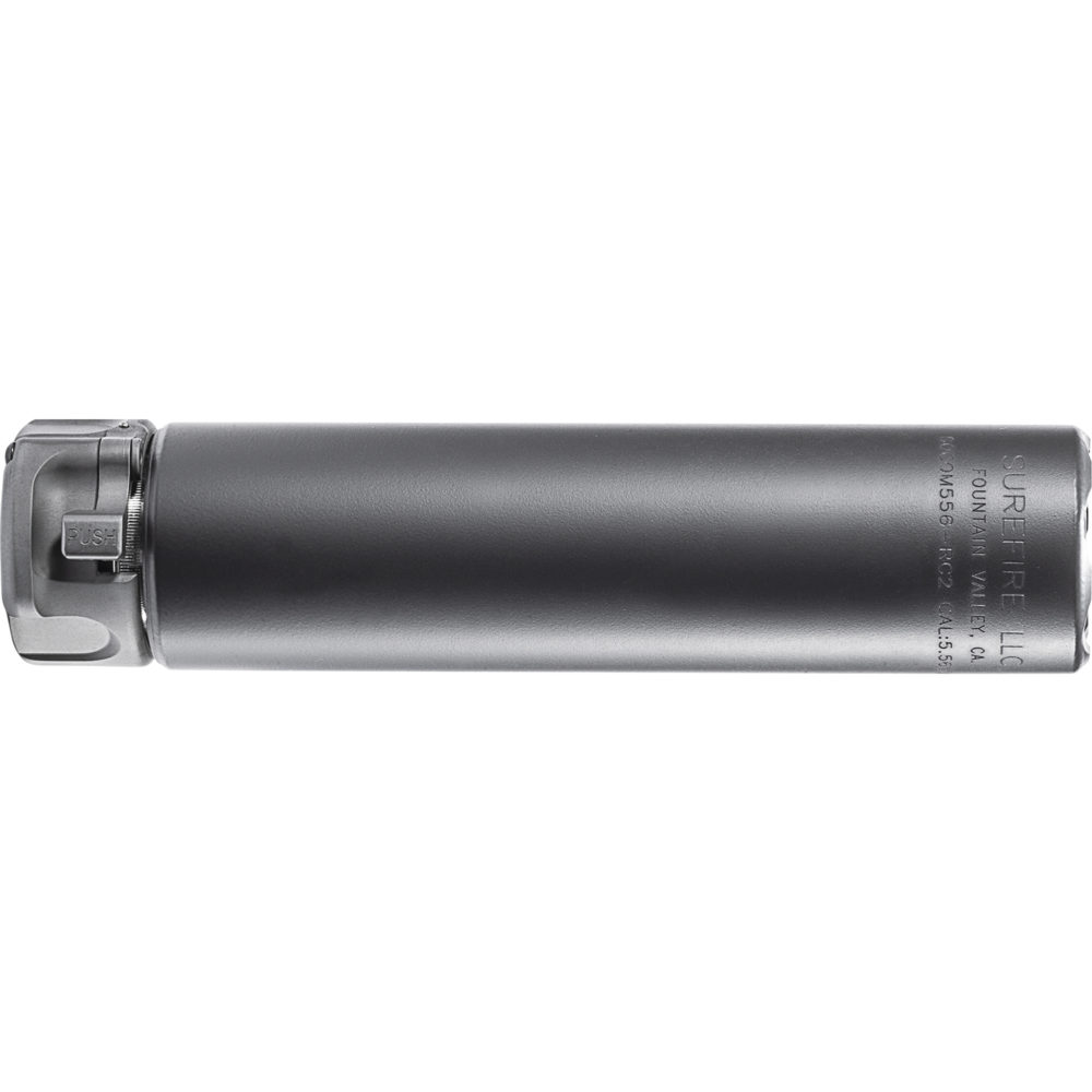 SOCOM556-RC2 Gun Suppressor AR 15 Silencer with High Temperature Alloy in Black color