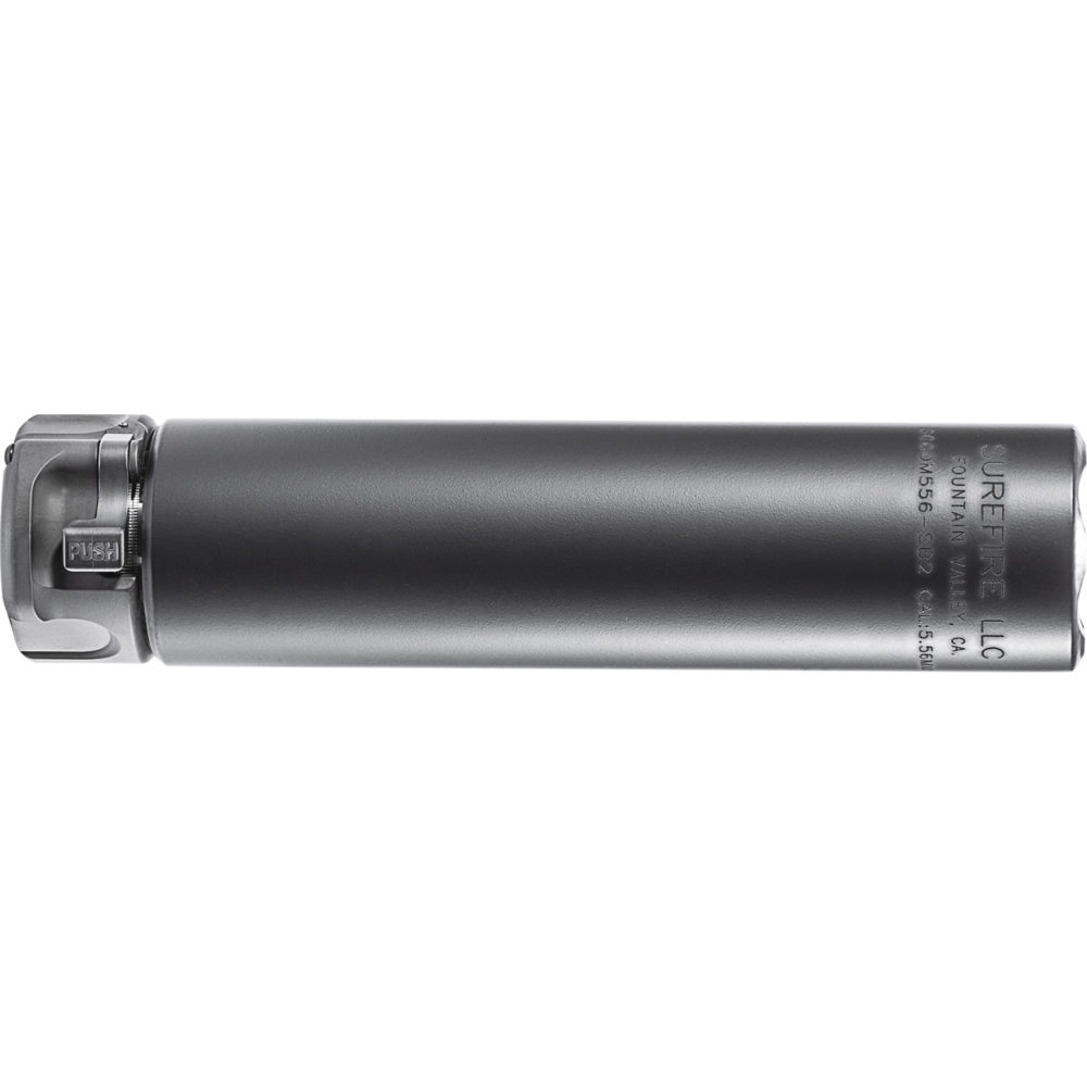 SOCOM556-SB2 Suppressor AR 15 Silencer with High-Temperature Alloy in Black