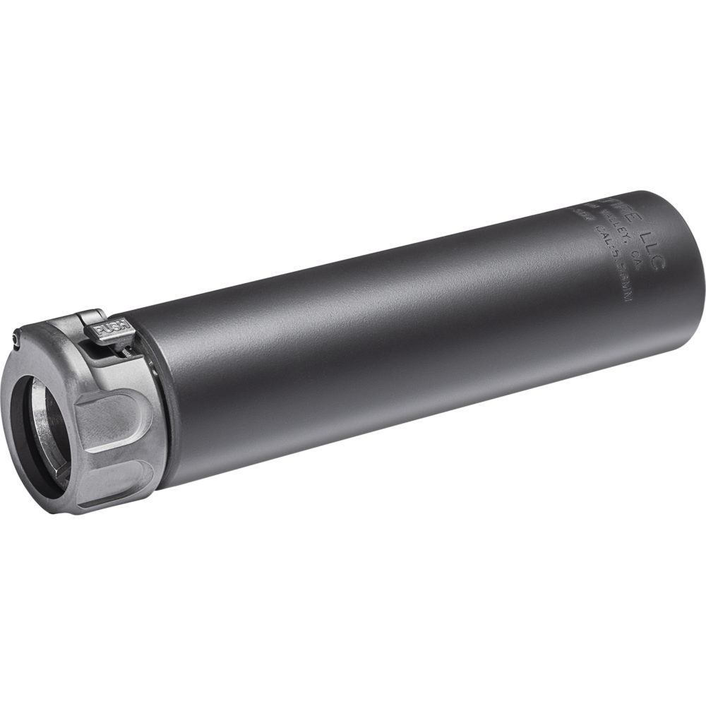 SOCOM556 SB2 Suppressor AR 15 Silencer with Fast Attach Barrel Installation in Black