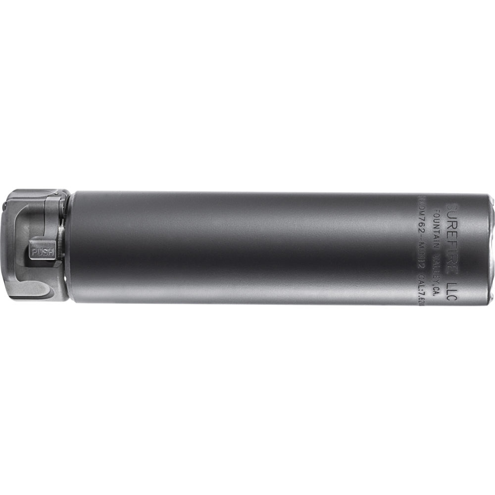 SOCOM762-MINI2 Suppressor Gun Silencer with High-Temperature Alloy in Black