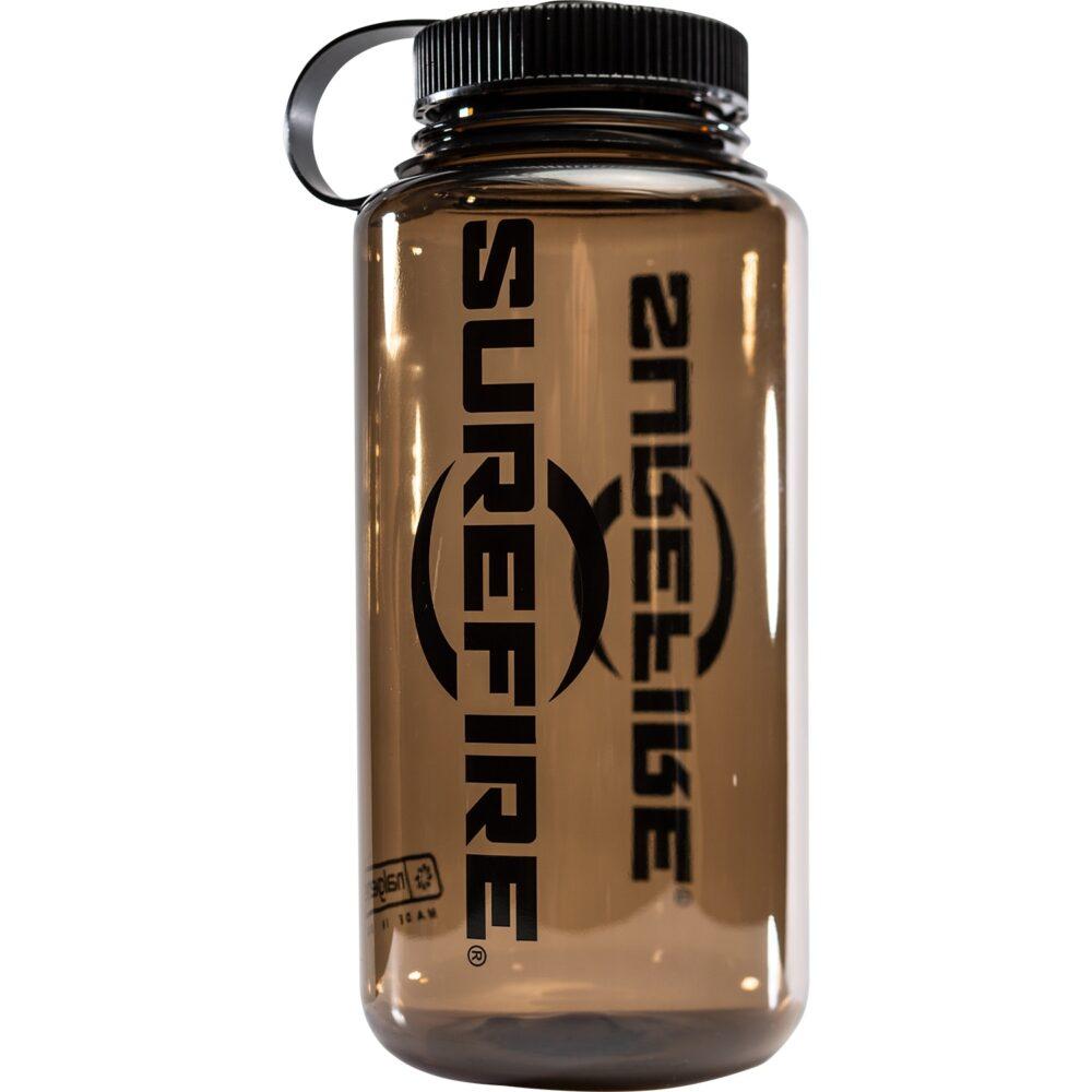 Brown SureFire Water Bottle