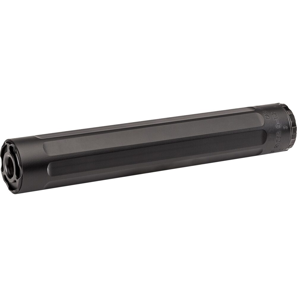 SF Ryder 9-Ti2 Suppressor (Silencer) in Black with 9mm Caliber